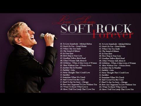 Michael Bolton, Rod Stewart, Air Supply, Chicago, Elton Johnr-Best Soft Rock Songs 70's, 80's & 90's