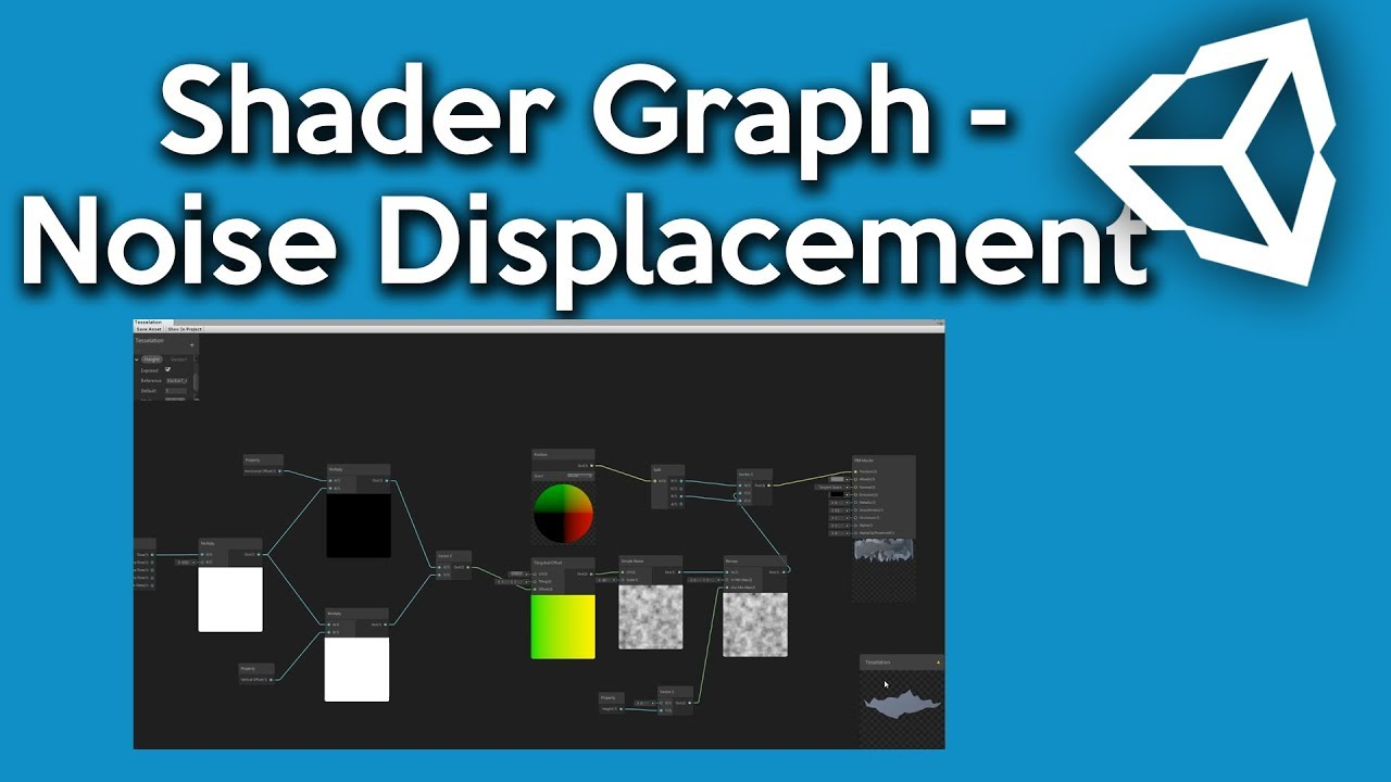 Unity Shader Graph - How to make a Vertex Noise Displacement Shader