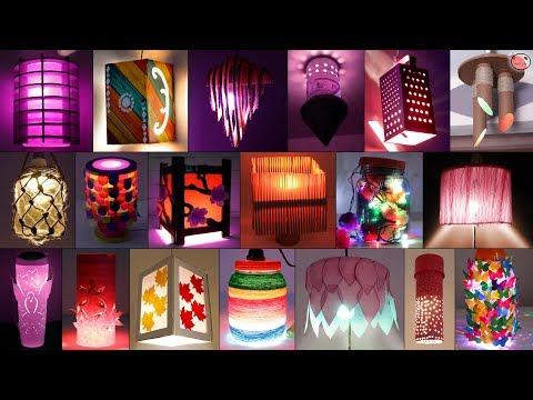 35 Extra Ordinary Home Made DIY Lantern/Night Lamp Craft Idea