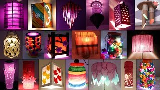 35 Extra Ordinary Home Made DIY Lantern/Night Lamp Craft Idea