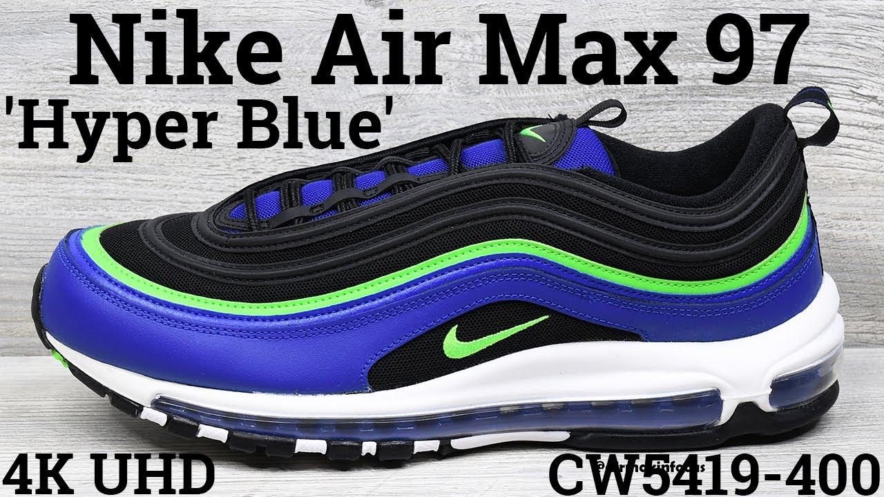 4K] Nike Air Max 97 'Hype Blue' CW5419