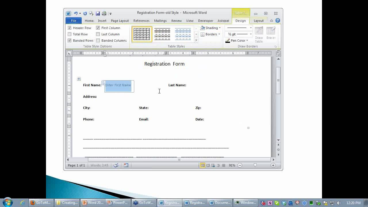 Doc585707 How to Make a Signup Sheet in Word 21 Sign In Sheet – How to Make an Order Form in Word