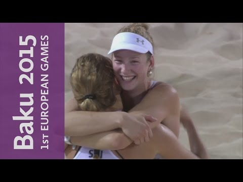 Women's Final | Beach Volleyball | Baku 2015 European Games