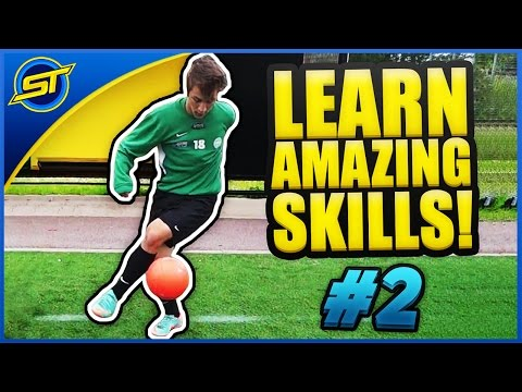 Learn Amazing Football Skills Tutorial #2 ★ Ronaldo/Messi/Neymar Skills