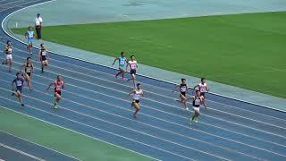 男4x100mR 準決1組 全国高校総体 北九州地区予選
