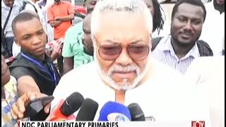 Money must not influence delegates' choice - Former President Rawlings