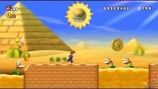 New Super Mario All Stars HD: Super Mario Bros 3 REMAKE 100% Mundo 2