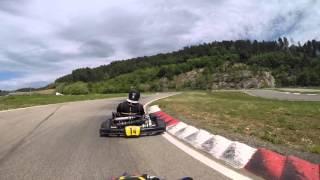 Kart 125cc X30 - Circuit Pôle Mécanique d'Alès en Cévennes - Serrage Moteur
