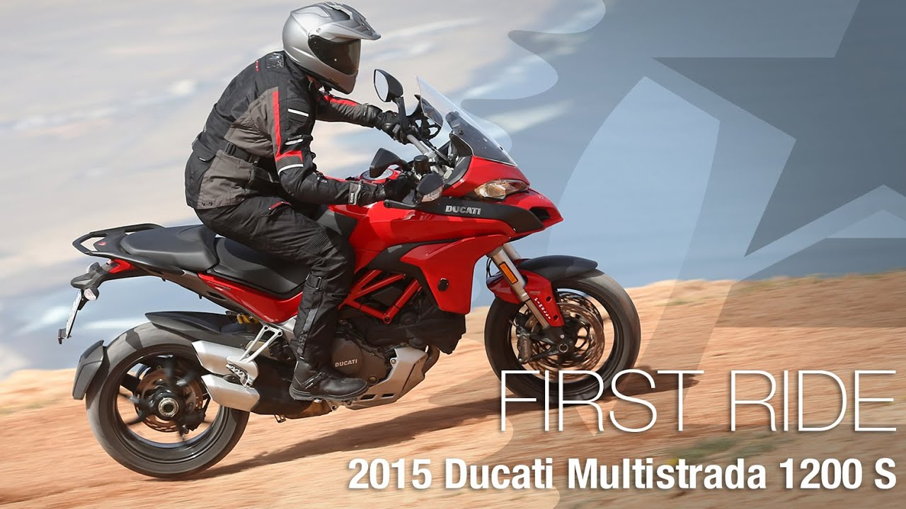 2015 ducati multistrada 1200 s first ride motousa youtube. Black Bedroom Furniture Sets. Home Design Ideas