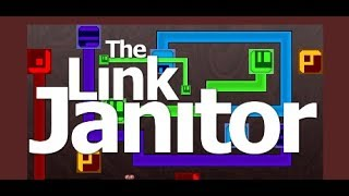The Link janitor:great logic line puzzle game