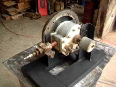 Rotary Piston Steam/Air Engine #1 Walk around