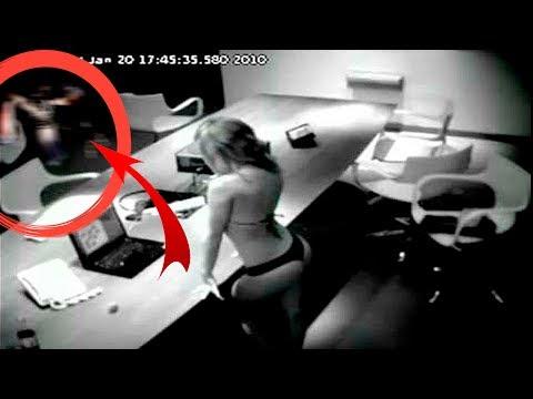 Fantasmas reales y aterradores captados en cámaras de seguridad  Omares Tal Cual