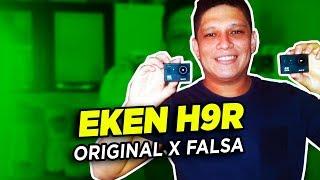 EKEN H9/H9R: ORIGINAL X FALSA - TESTE COMPARATIVO