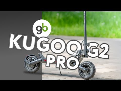 KUGOO G2 PRO - брутальный городской мачо. Новинка 2020 года в классе электросамокатов-вездеходов.