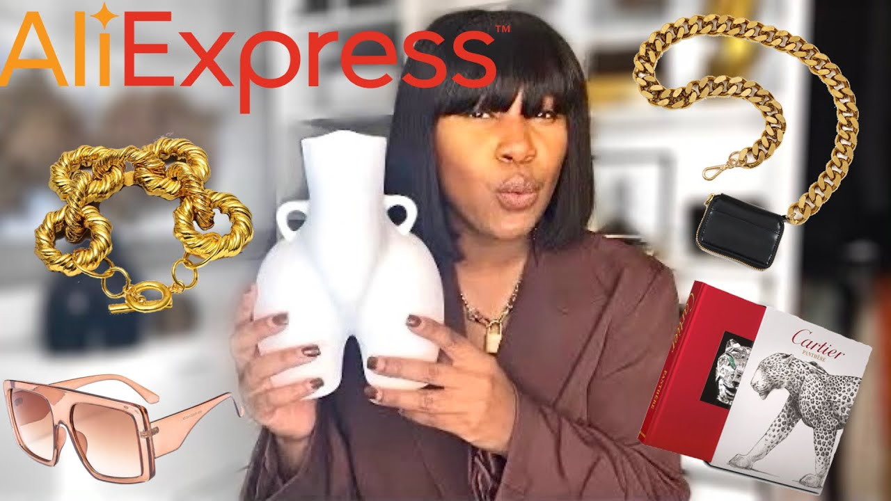 DON'T BUY THIS FULL PRICE! Aliexpress haul 2021 (accessories + home decor) Aliexpress dupes