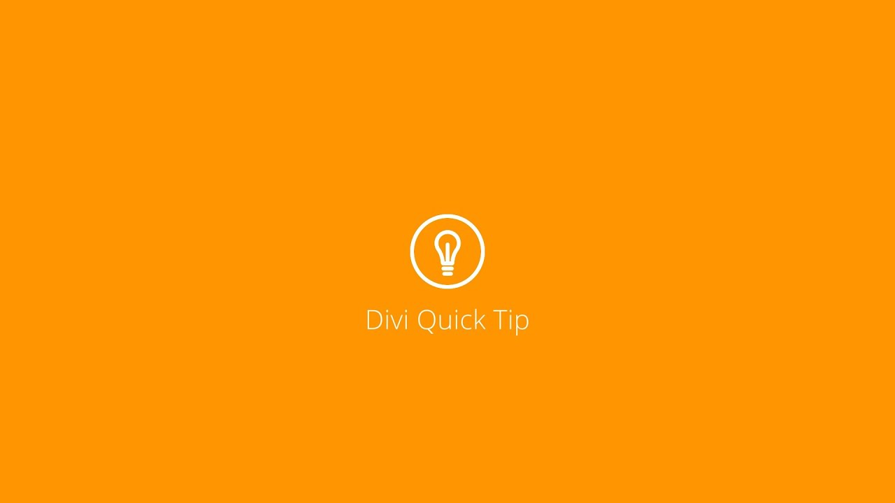 Divi Quick Tip 01: How to Create a Blog Post Template with the Divi Builder