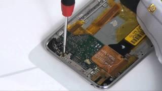 Apple iPod Touch 3G - как разобрать mp3 плеер и его устройство