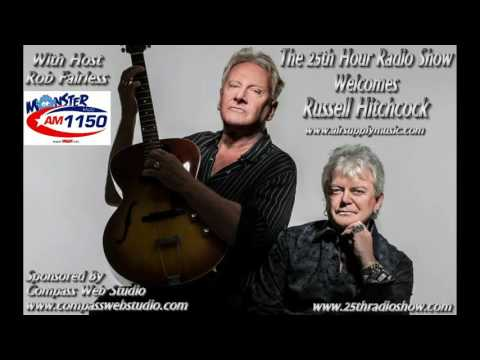 Russell Hitchcock - Air Supply - 40th Anniversary Tour Interview - Monster Radio AM1150