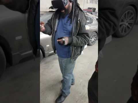 mechanic loves virtual reality