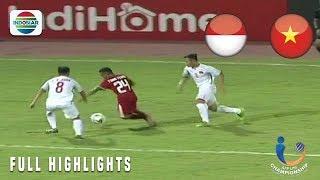 Indonesia  1  Vs  0  Vietnam - Full Highlight   Aff U19 Championship 2018