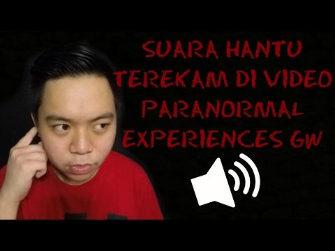 SUARA HANTU TEREKAM DI VIDEO PARANORMAL EXPERIENCES GW! | Paranormal Experiences 4