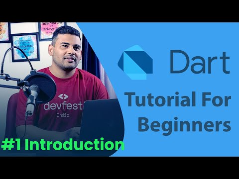 Dart Programming Tutorial for Beginners - #1 Introduction