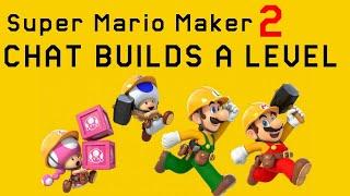 Super Mario Maker 2 • Build a Level With Me!