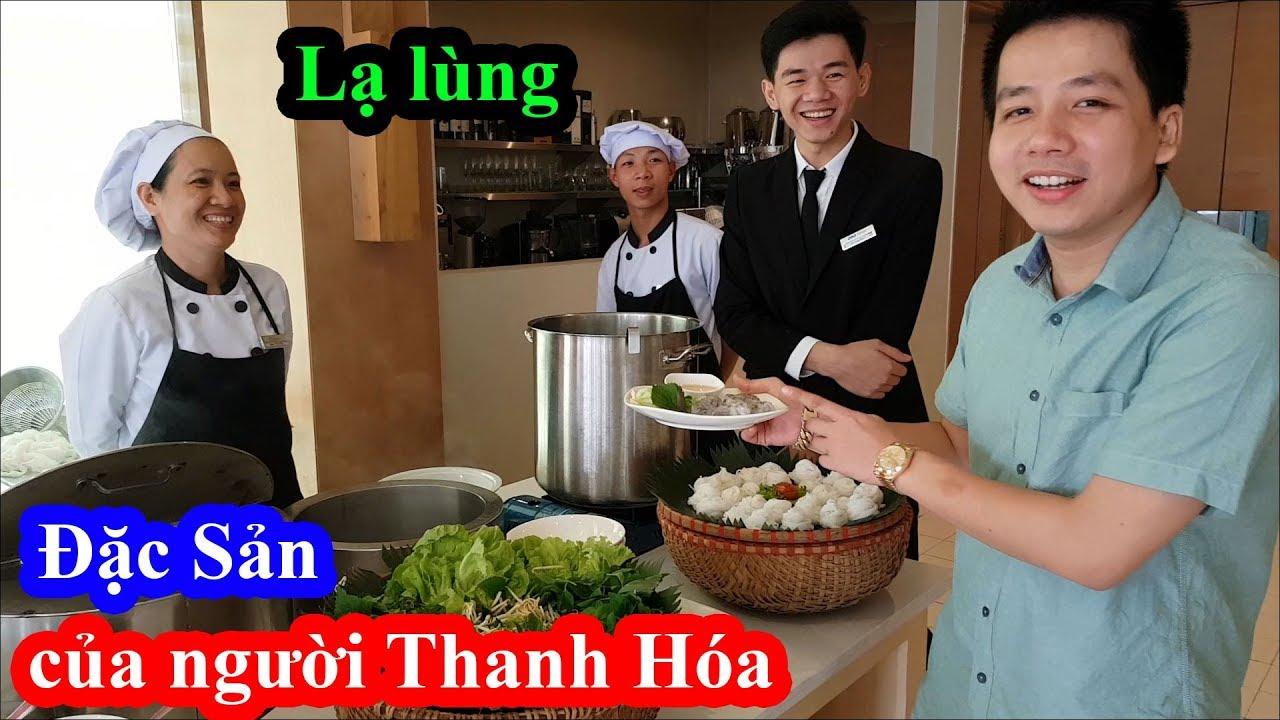Cười ngất hai lúa mặc đồ nghiêm túc xuống ăn buffet FLC toàn đặc sản Thanh Hóa mà cứ ngu người ra