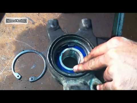 ВАЗ 2109 Замена подшипника ступицы переднего колеса