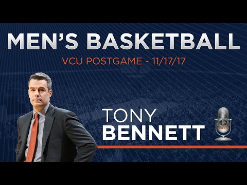 MEN'S BASKETBALL - Virginia at VCU Bennett Postgame