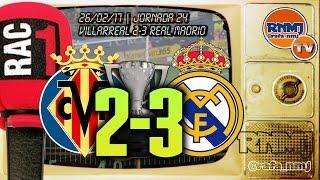 Goles Villarreal 2-3 Real Madrid por RAC1 (26/02/2017)