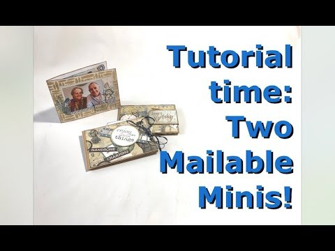 Tutorial: Two Mailable Minis (and a photo card) thumbnail