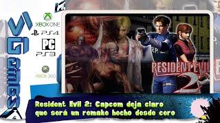 Resident Evil 2: Capcom deja claro que será un remake hecho desde cero