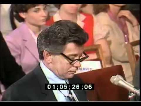 Little Nicky Scarfo Testifying Before Congressional Senate 1982