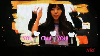 161118 APink 에이핑크 Pink AURORA in Taipei  - 應援舞蹈教學影片 dance teach video