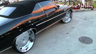 "1975 Buick LeSabre Convertible on 26"" Forgiatos - 1080p HD"