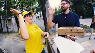 видео Замовлення піци у Львові