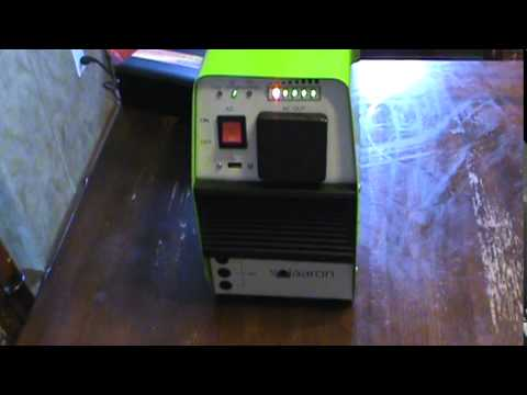 """Solaaron Outback """"Mate"""" 500 Portable Solar Generator review and test"""
