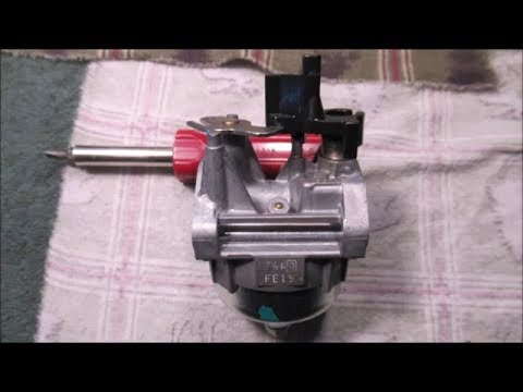Honda GCV 160 Carburetor Remove & Clean Part 2