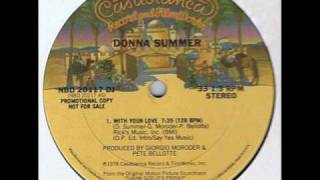 Disco - Donna Summer - With Your Love, Promo 12