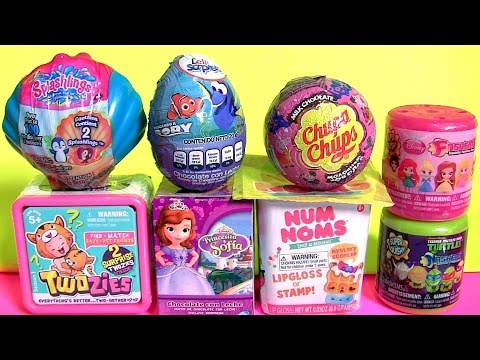 TOYS SURPRISE Mashems Fashems Baby Twozies Num Noms Sofia Peppa Pig PJ MASKS TOYS Collection