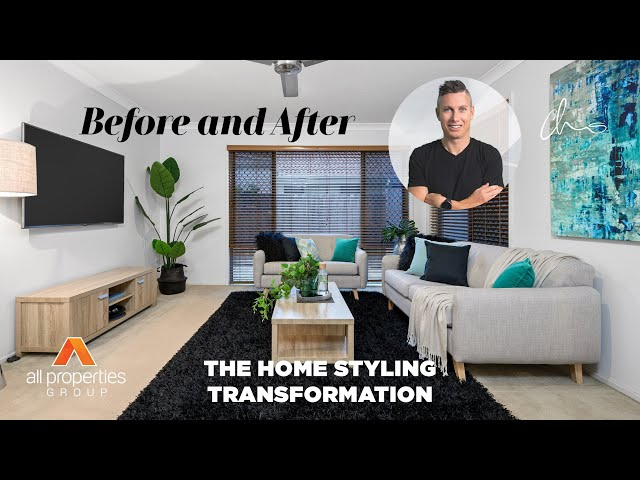 BEFORE & AFTER   Transformation of 19 Freshwater Drive, Berrinba with Home Styling