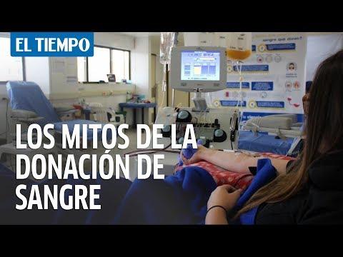Los mitos de la donación de sangre | EL TIEMPO