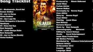 Talaash 2012 MP3 Songs