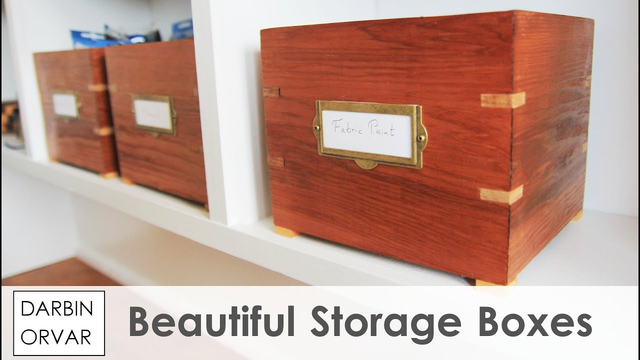 YouTube Premium & Vintage Style Storage Boxes w/ Splines - YouTube