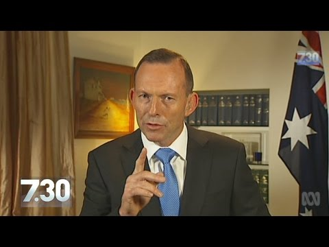 In Full: Tony Abbott outlines approach on Syria, economic record