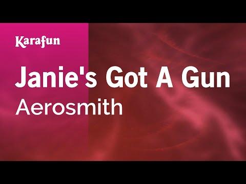 Karaoke Janie's Got A Gun - Aerosmith *