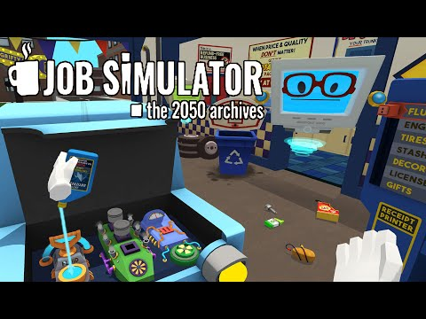 I'm Never Working On Cars Again! | Job Simulator | HTC Vive Virtual Reality