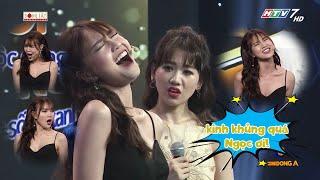 """""""Ngọc Nữ"""" Lan Ngọc """"phát tán"""" giọng ca khiến Hariwon phải bật ngửa"""