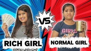 Rich Girl Vs Normal Girl : 2 | Rich Vs Normal |Comedy Vidio By Jayraj Badshah